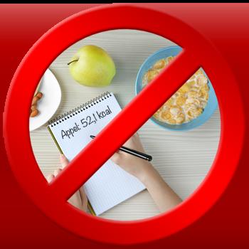 Valkuil #2: calorieën tellen